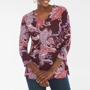 Chico's Women's Blouse Long sleeve 3️⃣